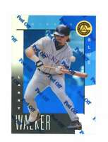 1998 Pinnacle Certified Mirror Blue #46 Larry Walker Bankruptcy Test Issue