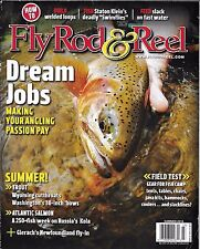 Fly Rod And Reel Fishing Magazine Dream Jobs Trout Atlantic Salmon Camp Gear