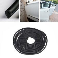 Car Black Silicone Anti-Rub Door Side Guards Edge Strips Crash Protection Pad