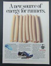 1988 REEBOK E.R.S. Energy Return System Sneakers Foot Locker Magazine Ad