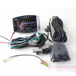5in1 Digital Oil Pressure+Voltmeter+Water Tempe + Fuel Gauge + Tachometer Meter