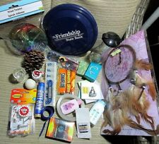 Box Lot of Odds n Ends Household Travel Fun Items New and Usable (See photos)