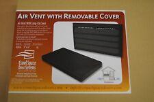 Manual Foundation Air Vent + Snap Cover - Foundation Crawlspace Encapsulation