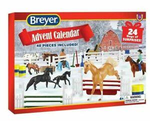 PRE-ORDER Breyer 2021 Christmas Holiday Advent Calendar 40 PC Mini Whinnies