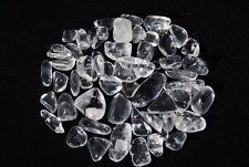 Clear Quartz Mini Tumbled Stones ~ 25 Grams ~ Natural Quartz Crystal Gemstone