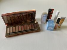 NEW Urban Decay Naked HEAT Large 12 Color Palette w SAMPLES GALORE