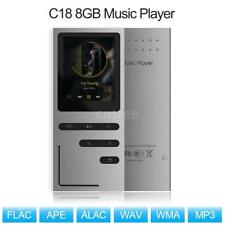 "Metall 8GB MP3 MP4 Player HiFi Musik Spieler 1.8"" LCD Bildschirm FM Radio Video"
