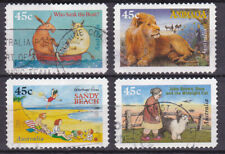 AUSTRALIA 1996 Book for Children Adhesive Yv 1558 to 1561 Used very fine