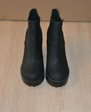 H&M Divided   Stiefeletten Ankle Boots Gr.36 Schwarz