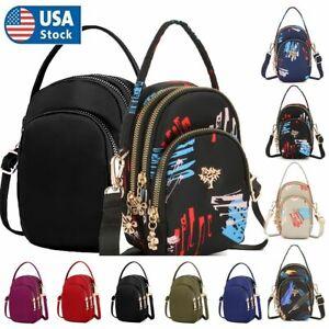 Small Cell Phone Women Purse Wallet Handbag Case Shoulder Bag Cross-body Pouch