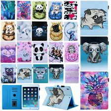 """For iPad 10.2"""" 9.7"""" Air Pro 10.5"""" Mini 2 3 4 5 Pattern Leather Stand Cover Case"""