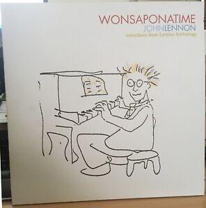 John Lennon – Wonsaponatime. 2 x LP. Mint (cover is VG+)