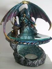 Flame Saviour Dragon Fantasy Ornament / Statue 24cm Nemesis Now