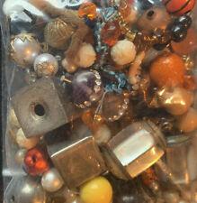 Misc Bead Jewelry Craft Making Junk Lot 2803