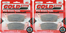 Honda RS 250 Front Sintered Brake Pads 1991-1992 - Goldfren - RS250 RS-250