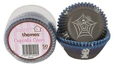 Spooky or Halloween Cupcake Cases or Baking Cups - 50 Pack