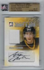 2007 - 08 STEVEN STAMKOS ROOKIE CARD - JERSEY AND AUTO - RC MINT - 24/30!!!!!