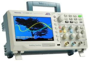 Tektronix TBS1072B-EDU 2 Channel Digital Storage Oscilloscope 70MHz 1GS/S 2.5K