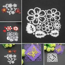 Flower Metal Cutting Dies Stencil Scrapbooking Album Paper Decor Craft Embossing