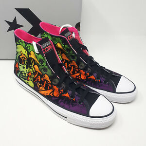 Converse Chuck Taylor All Star Pro Hi 171225C Wasabi Black Shoe Sneaker Men 11.5