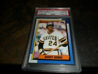 1990 O-Pee-Chee OPC Barry Bonds #220 Pittsburgh Pirates GEM MINT PSA 10