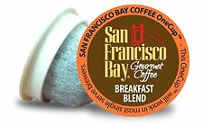 Breakfast Blend San Francisco Bay Coffee OneCup  For Keurig K-cup brewer