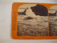 Stereoview George E Curtis Niagara Falls New York The Whirlpool Rapids 264 (O)