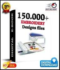150.000 EMBROIDERY Designs Collection DISNEY & OTHER - Download