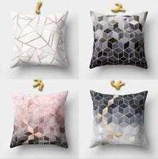 45x45cm Streifen Muster Kissenbezüge Kissenbezug Kissenhülle Bezug Hülle Sofa