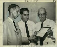 1965 Press Photo W. McFadden Duffy at promotion of National Safe Boating Week