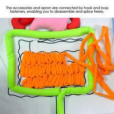 Educational Development 3D Organ Apron For Toddler Kid Children Boy Girl