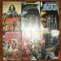 The Walking Dead 1 Wizard World Variant Cover 127 Two Day Special FCBD Lot
