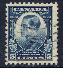 Canada #193(3) 1932 5 cent blue Prince of Wales (Edward) Used CV$4.00