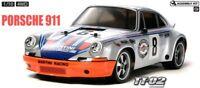 Tamiya 58571 Porsche 911 Carrera RS 4WD RC Kit - DEAL BUNDLE w/ Twin Stick Radio