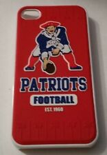 New England Patriots NFL iPhone 4/4s 3-D Silicone Team Design Hard Case Cover