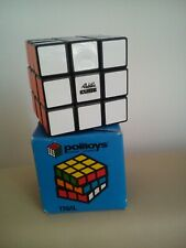 Old toy Rubik's Cube made in Hungary