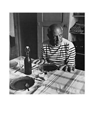 Robert Doisneau les Pains de picasso póster son impresiones artísticas imagen 60x50cm