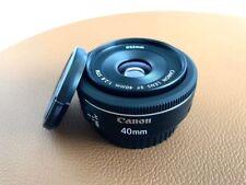 Canon EF 40 mm f/2.8 STM en excellent etat
