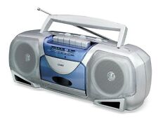 Coby CX244 Radio Stereo Cassette Recorder Player CXC450 Boombox 110-240 Volts