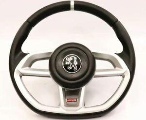 Peugeot 106 206 306 Steering Wheel Silver Rallye WRC Sport Gti