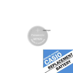 MT920 rechargeable battery for Casio and other brand watches by Panasonic