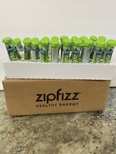 ZipFizz All Natural Energy Drink Mix LIMON 28 Tubes B12 Energy Hydration Vitamin