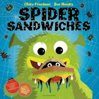 Preschool Story Book, Picture Book - SPIDER SANDWICHES by Claire Freeman - NEW