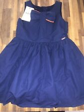 Marks And Spencer M&S Autograph Girls Navy Stunning Dress Age 6-7 BNWT