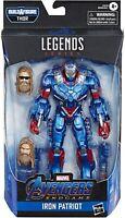 "Marvel Legends Avengers Endgame Iron Patriot 6"" Action Figure Thor BAF"