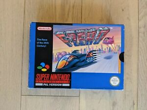 F-Zero Super Nintendo (SNES) PAL complet - boite et notice originales