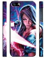 X-Men: Apocalypse Psylocke iPhone 5 6 7 8 X XS Max XR 11 12 Pro Plus SE Case 1