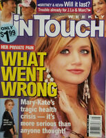 Mary Kate Olsen July 12, 2004 In Touch Magazine Britney Spears J. Lo