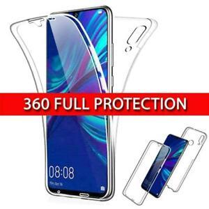 Shockproof Huawei Mate P30 Pro P20 Lite P Smart Y6 Y7 Y9 360 Silicone Case
