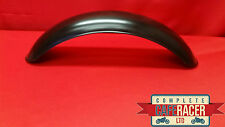 CRM10b STYLE CAFE RACER STAINLESS STEEL MUDGUARD - POWDER COATED MATTE BLACK